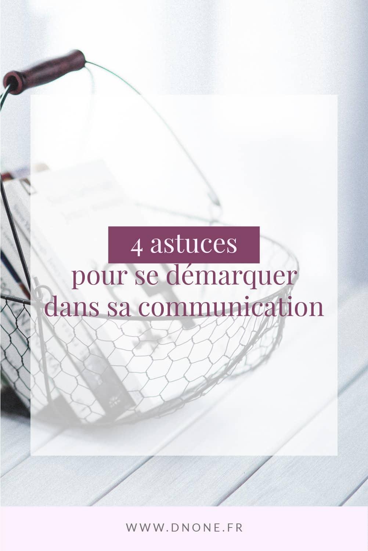 Épingle Pinterest 4 astuces pour se démarquer dans sa communication