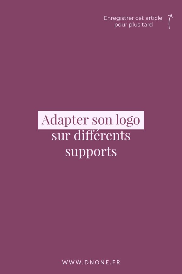 Adapter son logo grâce aux déclinaisons