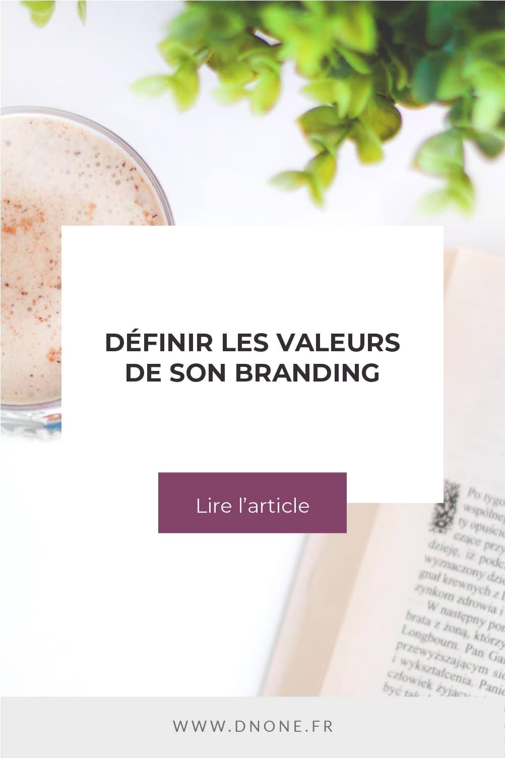 Épingle Pinterest Définir les valeurs de son branding
